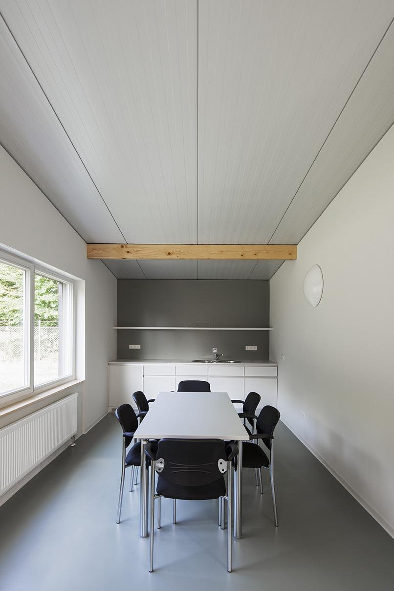 KIT Campus Süd, Aussenversuchsgelände Linkenheim/Hochstetten, Neubau Sozialgebäude, Gebäude 99.22