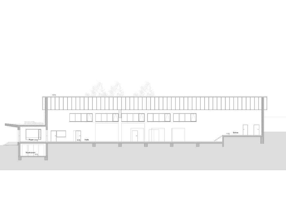 sanierung hermann- ringwald halle wolfartsweiher  planung: amt für hochbau und gebäudewirtschaft zähringerstraße 61 76133  karlsruhe