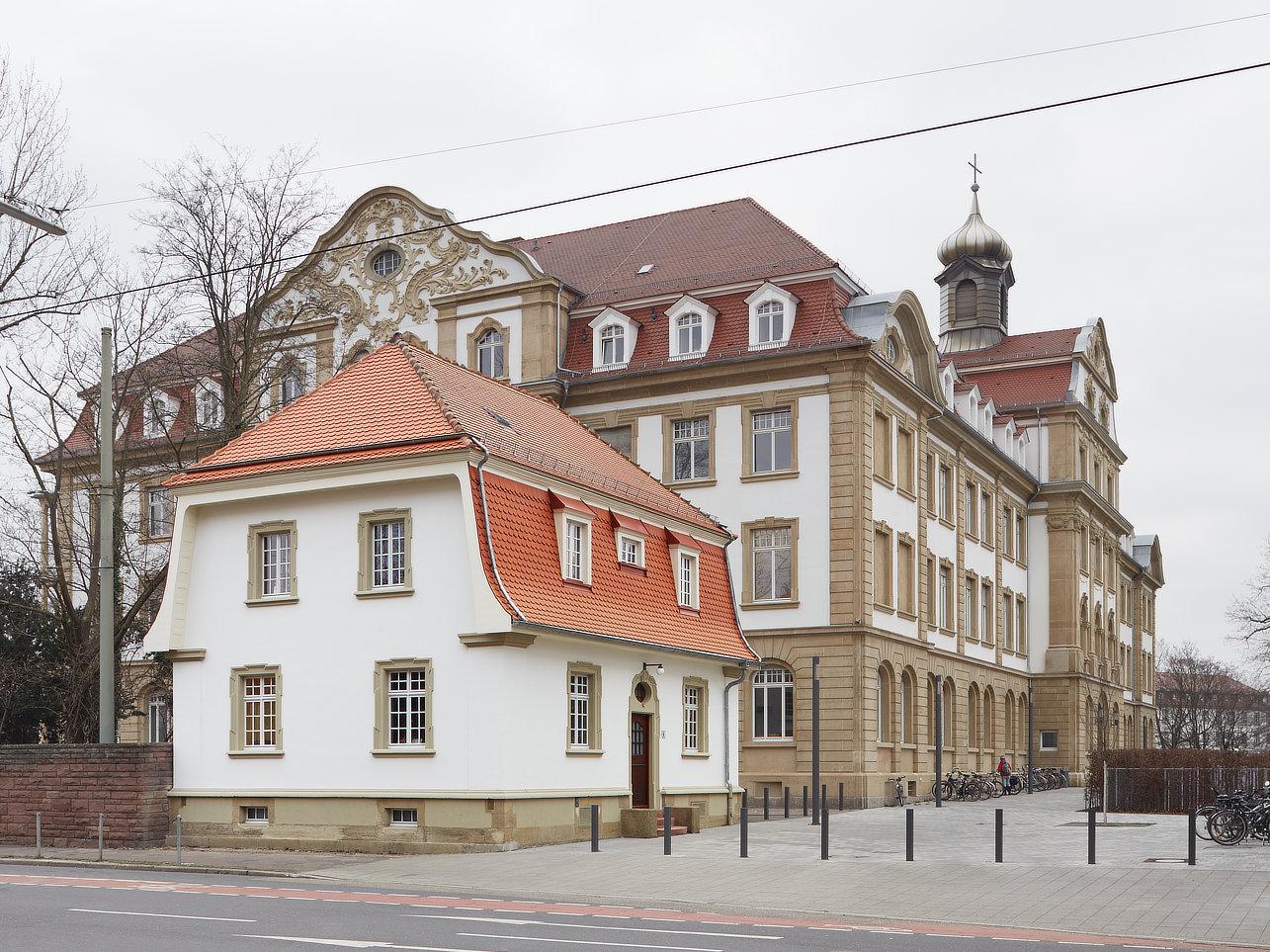 sanierung pförtnerhaus kit campus süd gebäude 50.25  planung: schelling architekten steinstraße 23 76133 karlsruhe www.schelling-architekten.de